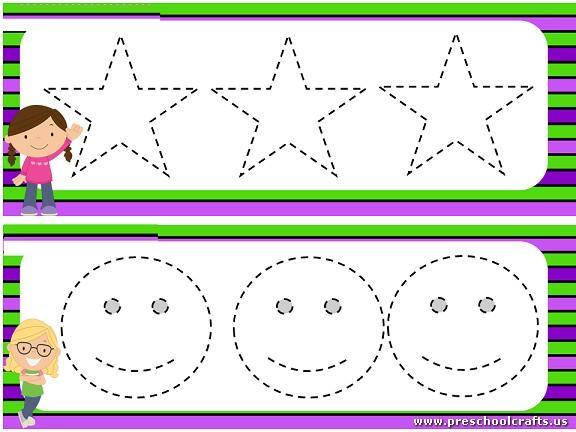 Preschool Worksheets Dotted Lines 10