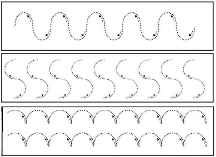 Preschool Worksheets Dotted Lines 9