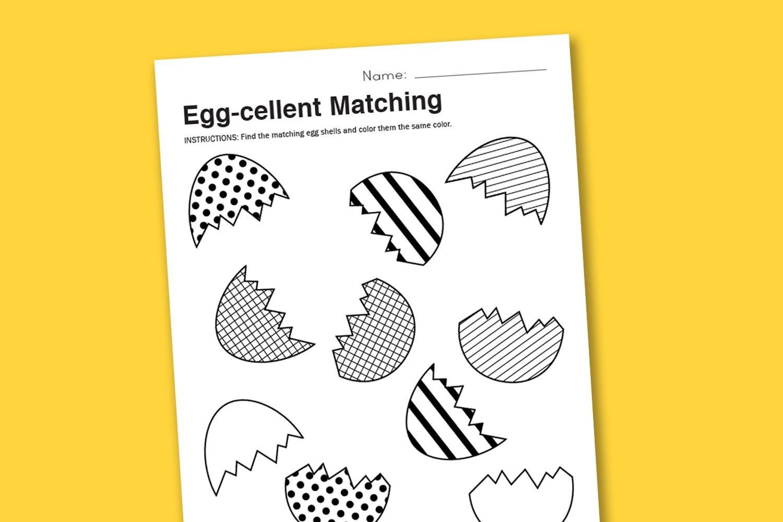 Preschool Worksheets Easter 1
