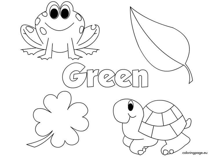 Preschool Worksheets Green 1