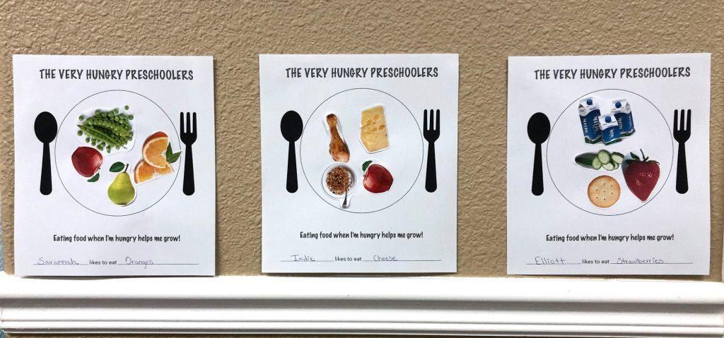 Preschool Worksheets Healthy Food 4