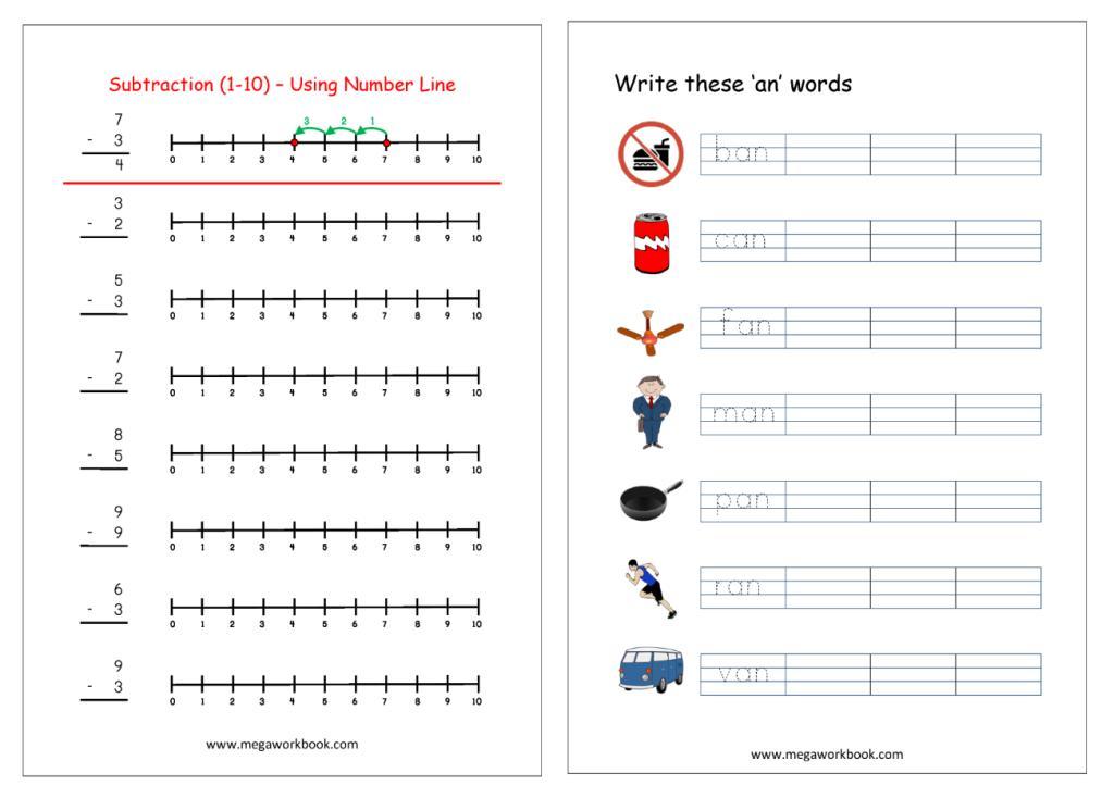 Preschool Worksheets India 4