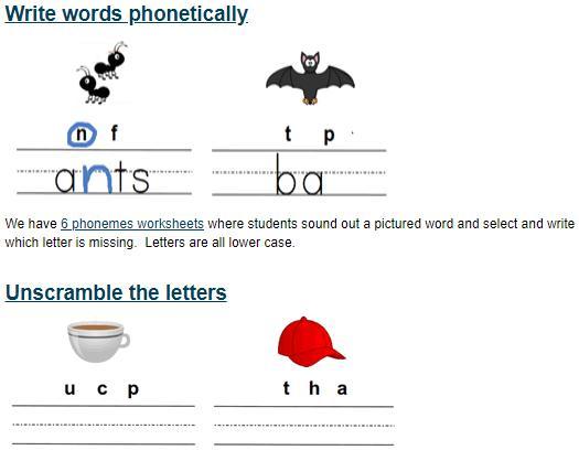 Preschool Worksheets K5 Learning 2