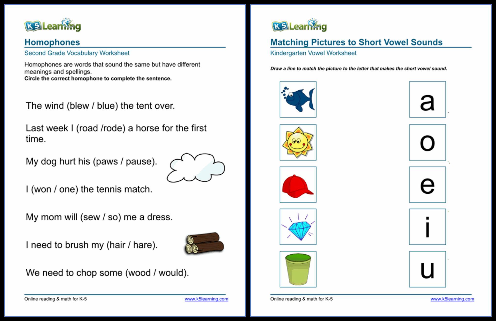 Preschool Worksheets K5 Learning 7