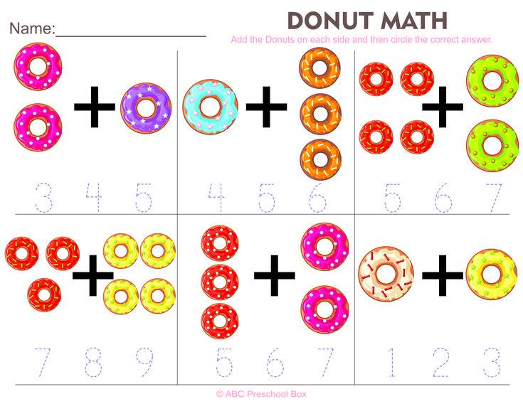 Preschool Worksheets Math Free