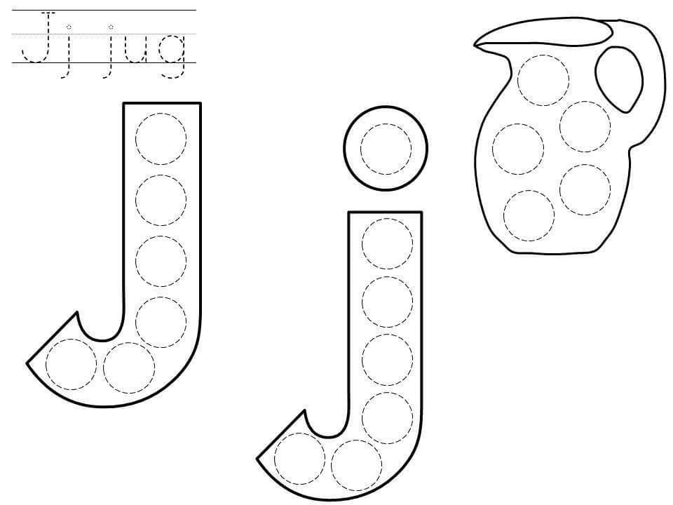 Printable Preschool Worksheets Letter J 2