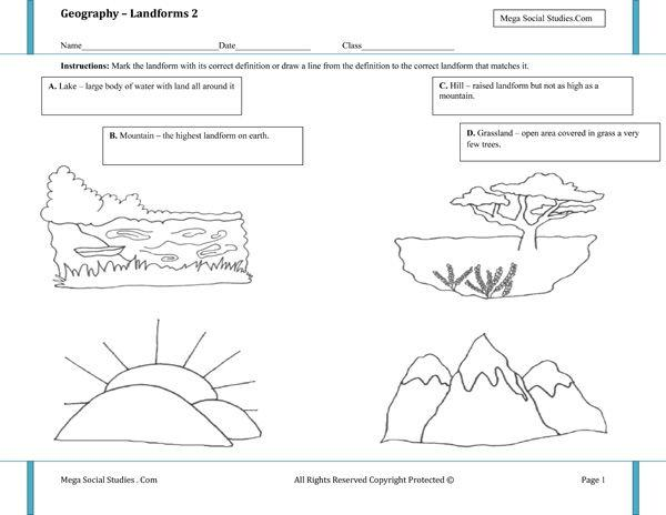 World Geography Worksheets For Preschool