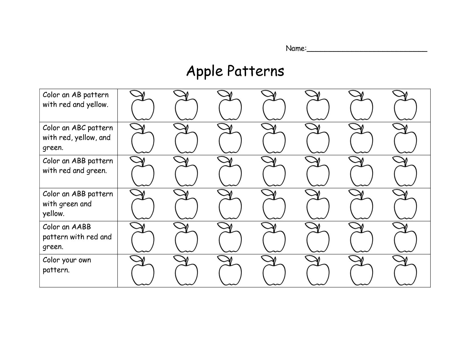 Preschool Cursive Writing Patterns Worksheets