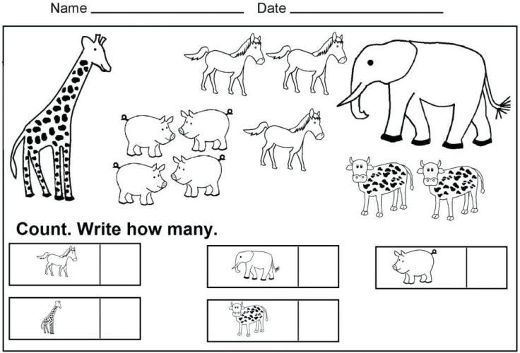 Preschool Printable Worksheets Shapes