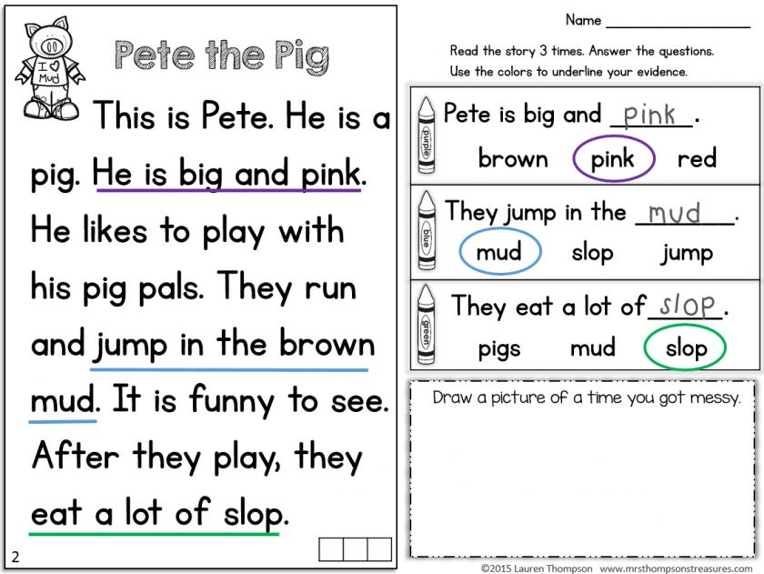 Preschool Readiness Printables