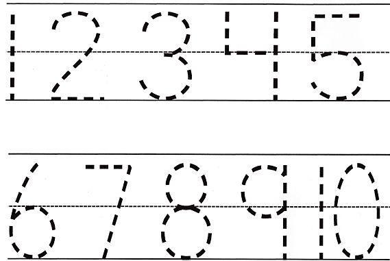 Preschool Tracing Lines Worksheets Pdf
