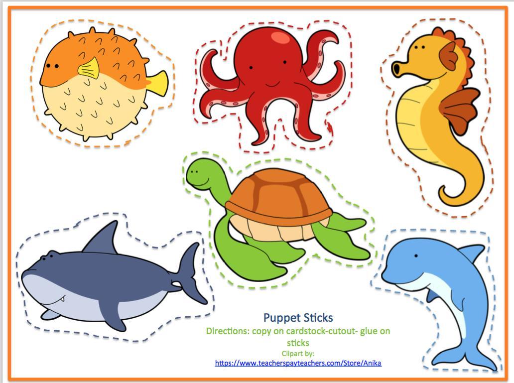 Preschool Worksheets Ocean Theme 2