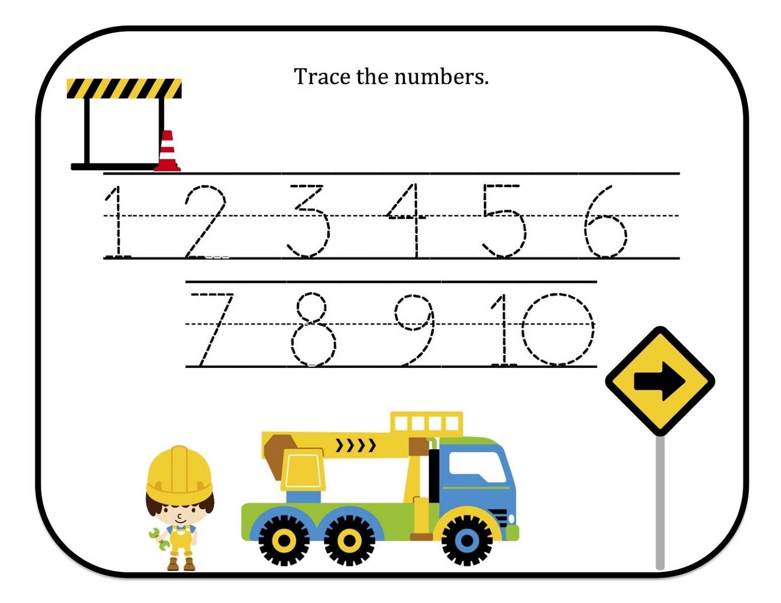 Preschool Worksheets Tracing Shapes 3