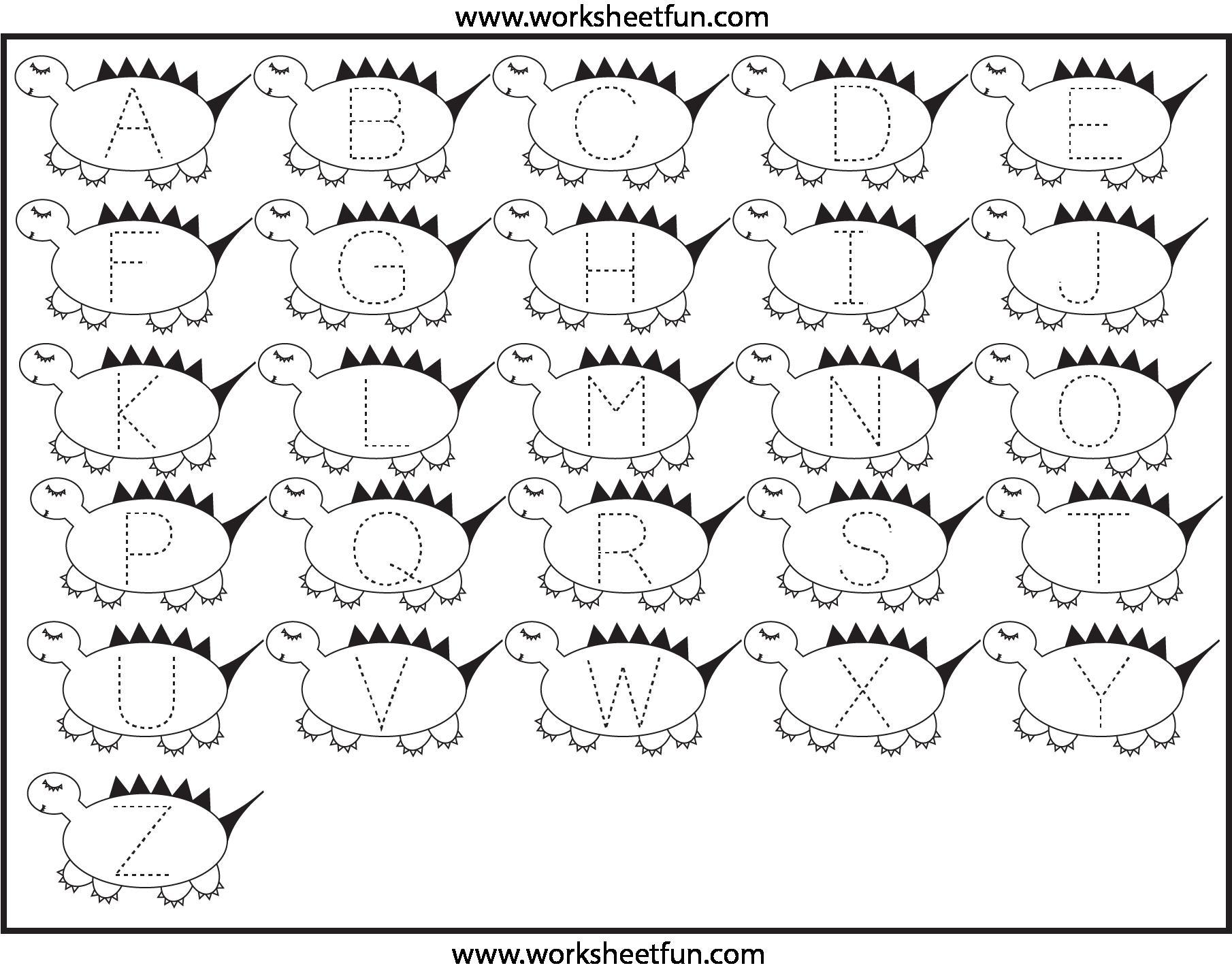 Preschool Worksheets Tracing Shapes 6