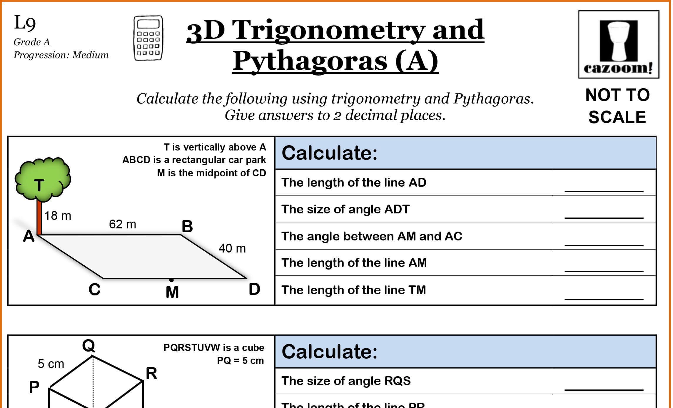 Math Worksheets Algebra 2 1