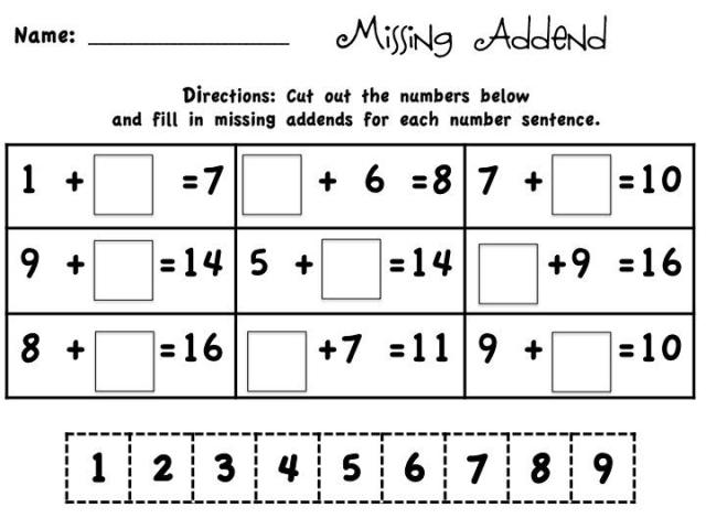 Math Worksheets Common Core 11