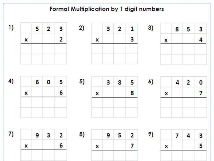 Math Worksheets Division 3