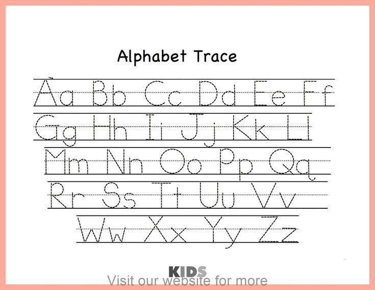 Preschool Alphabet X Worksheet 3