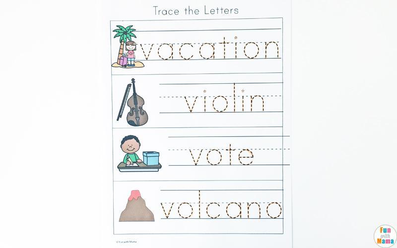 Preschool Volcano Worksheets 2