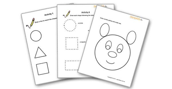 Preschool Worksheets For 2 Year Olds