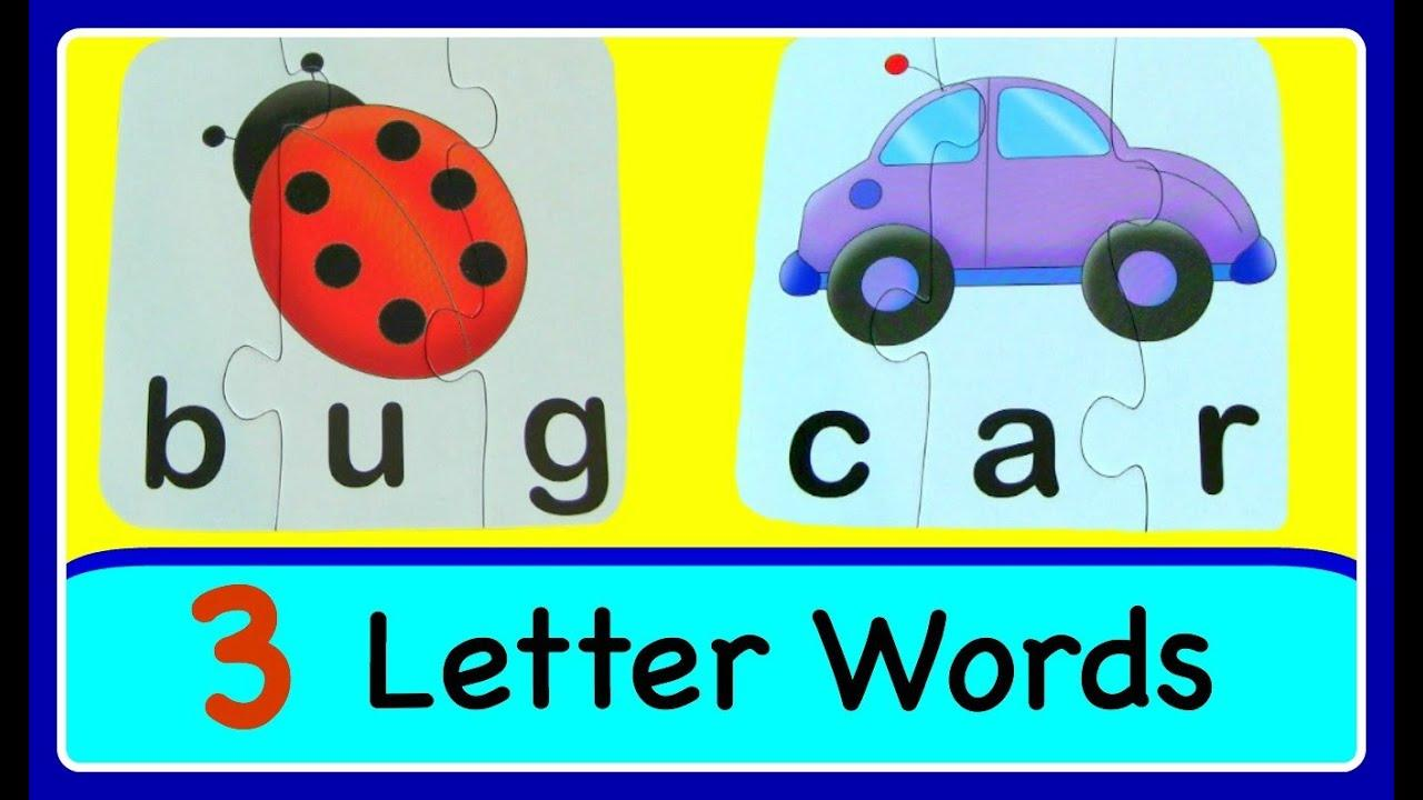 Preschool Worksheets With 3- Letter Words 5