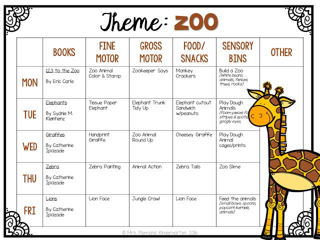 Printable Zoo Worksheets For Preschool