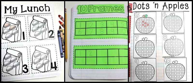 Math Journal Worksheets 1