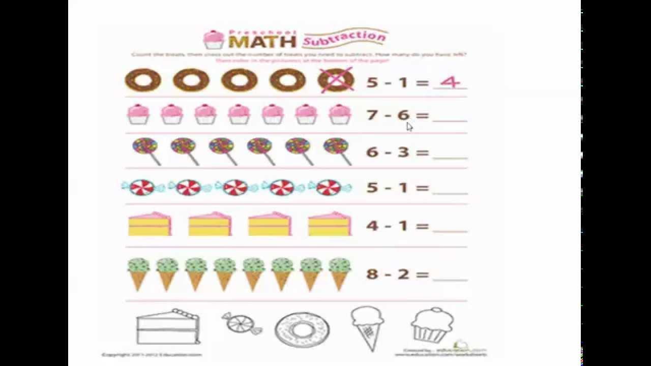Math Kg2 Worksheets Pdf