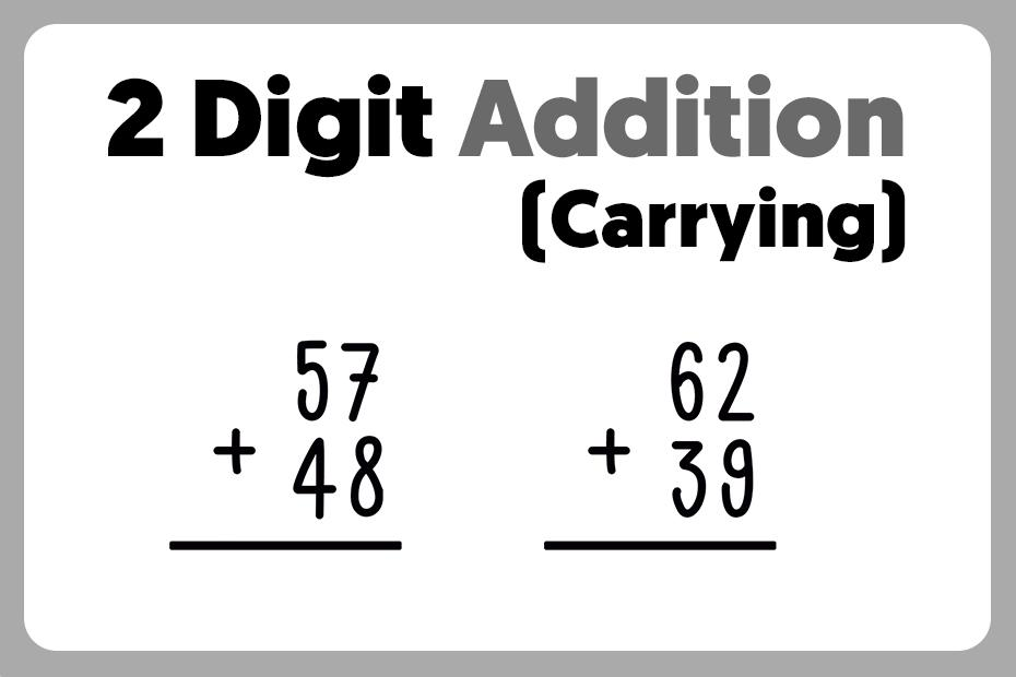 Math Worksheets Double Digit Addition 7