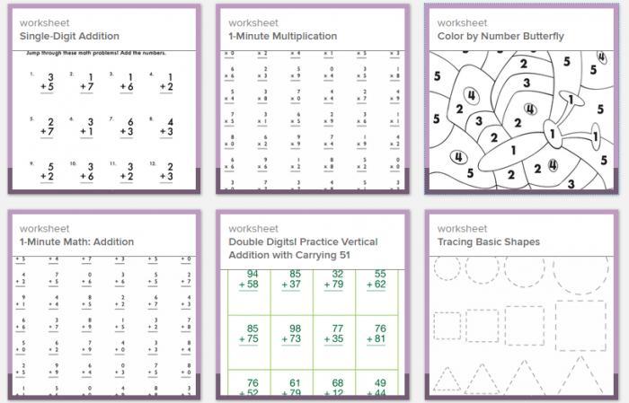 Math Worksheets Elementary 3