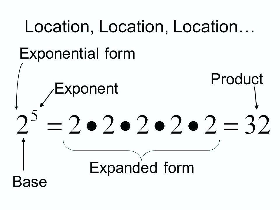 Math Worksheets Expanded Form 1