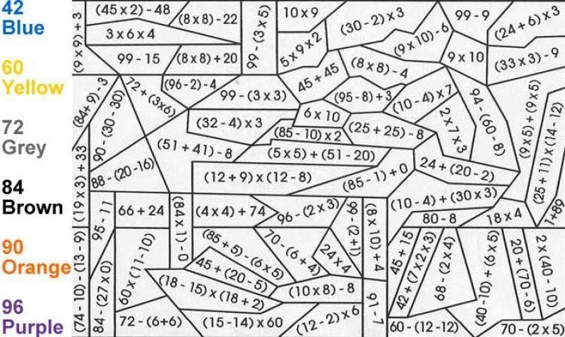 Math Worksheets Hard 2