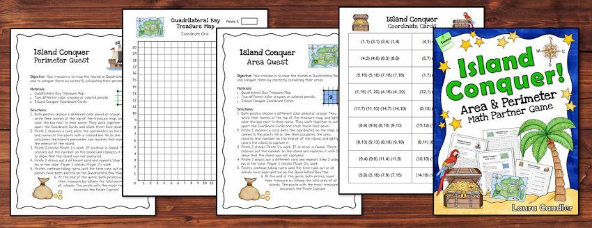 Math Worksheets Island 2