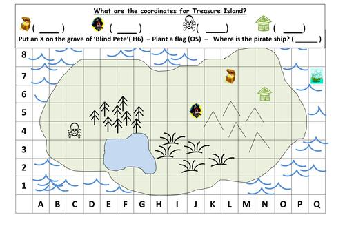 Math Worksheets Island 5