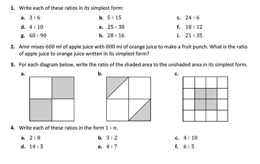 Math Worksheets Ks3 1
