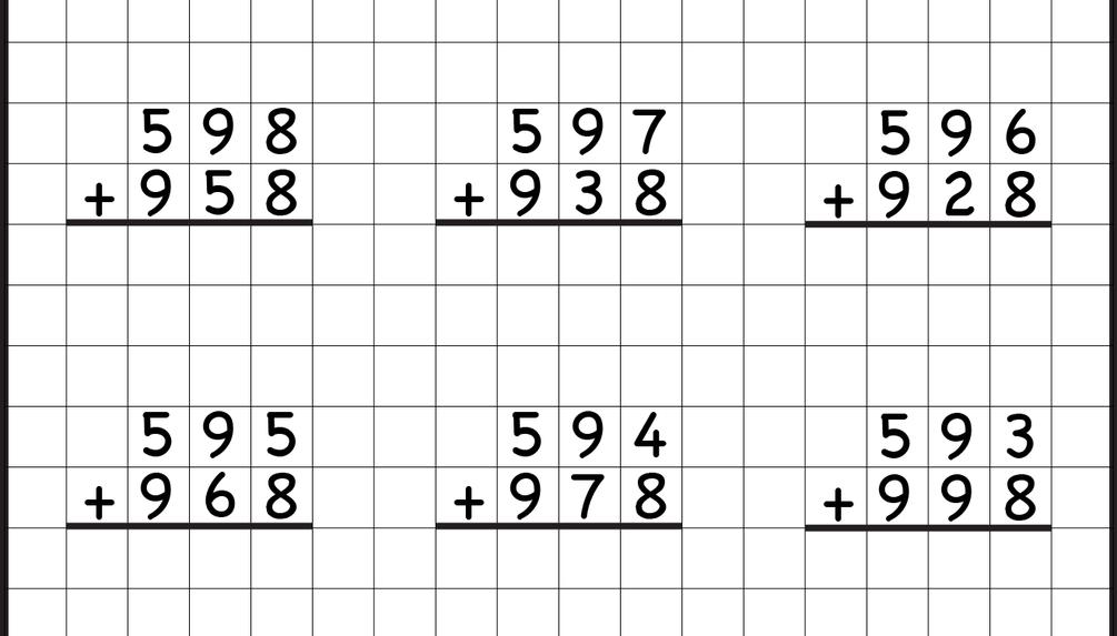 2nd Grade Math Worksheets Addition Subtraction Regrouping