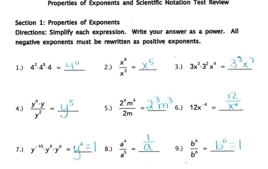 Fun Math Worksheets For Pre-algebra