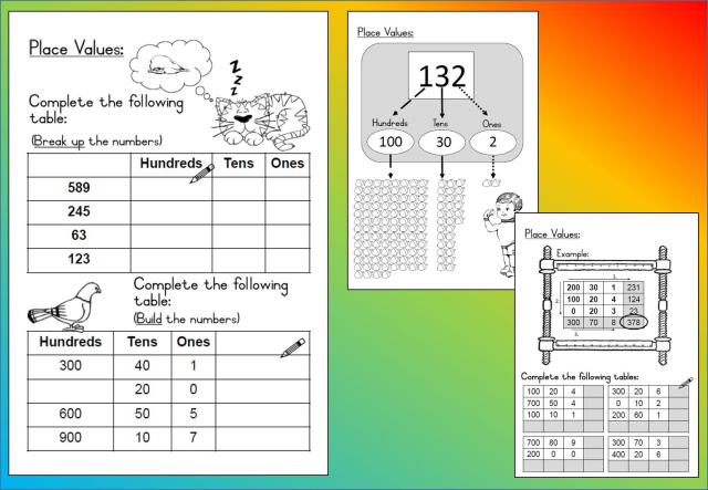 Math Worksheets On Place Value