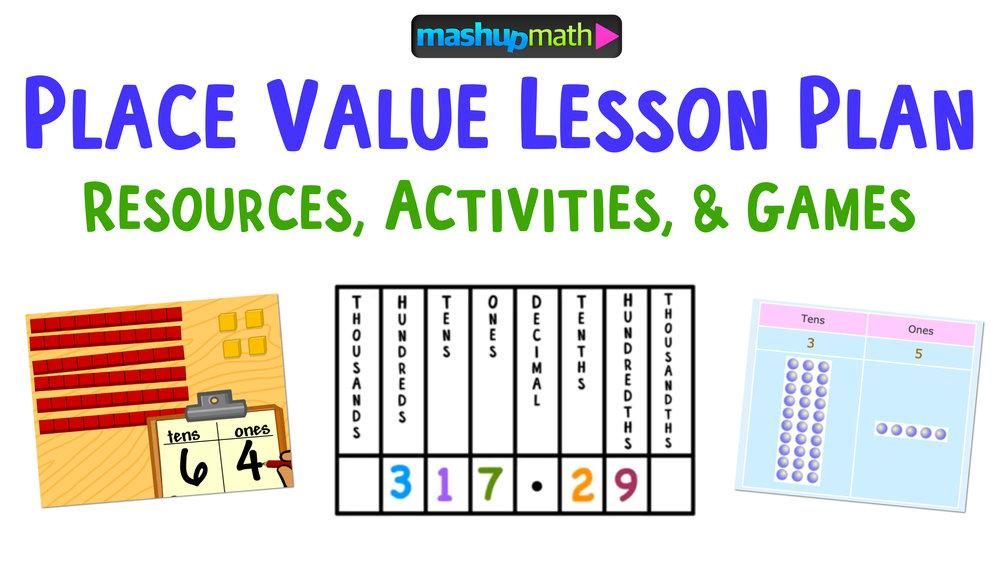 Math Worksheets On Place Value For 4th Grade 3