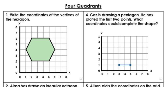 Maths Coordinates Worksheets Ks3