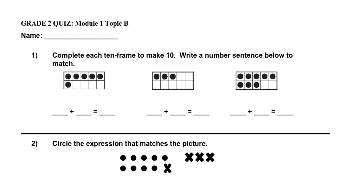 Maths Practice Worksheets For Class 2 Cbse