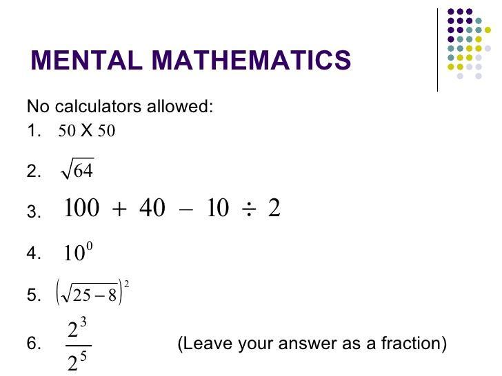 Maths Test Worksheet For Class 2