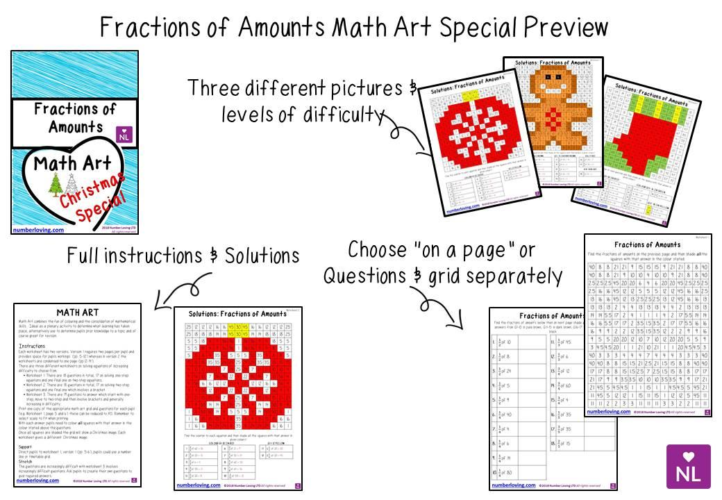 Math Holiday Worksheets For Middle School