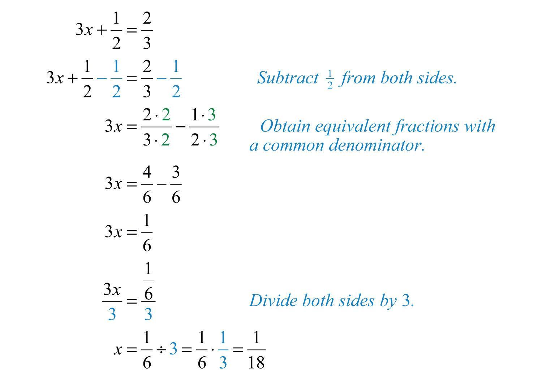 Math Worksheets Algebraic Equations