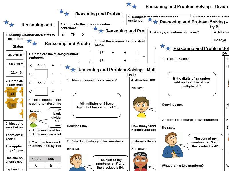 Math Worksheets Grade 4