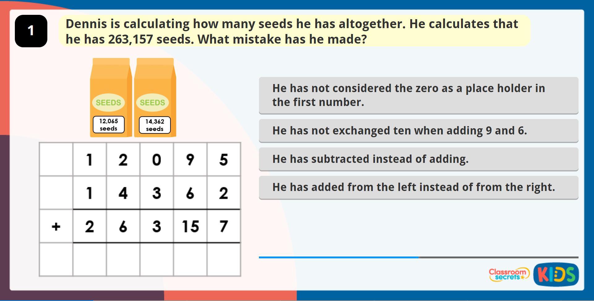 Math Worksheets Grade 5 Multiplication