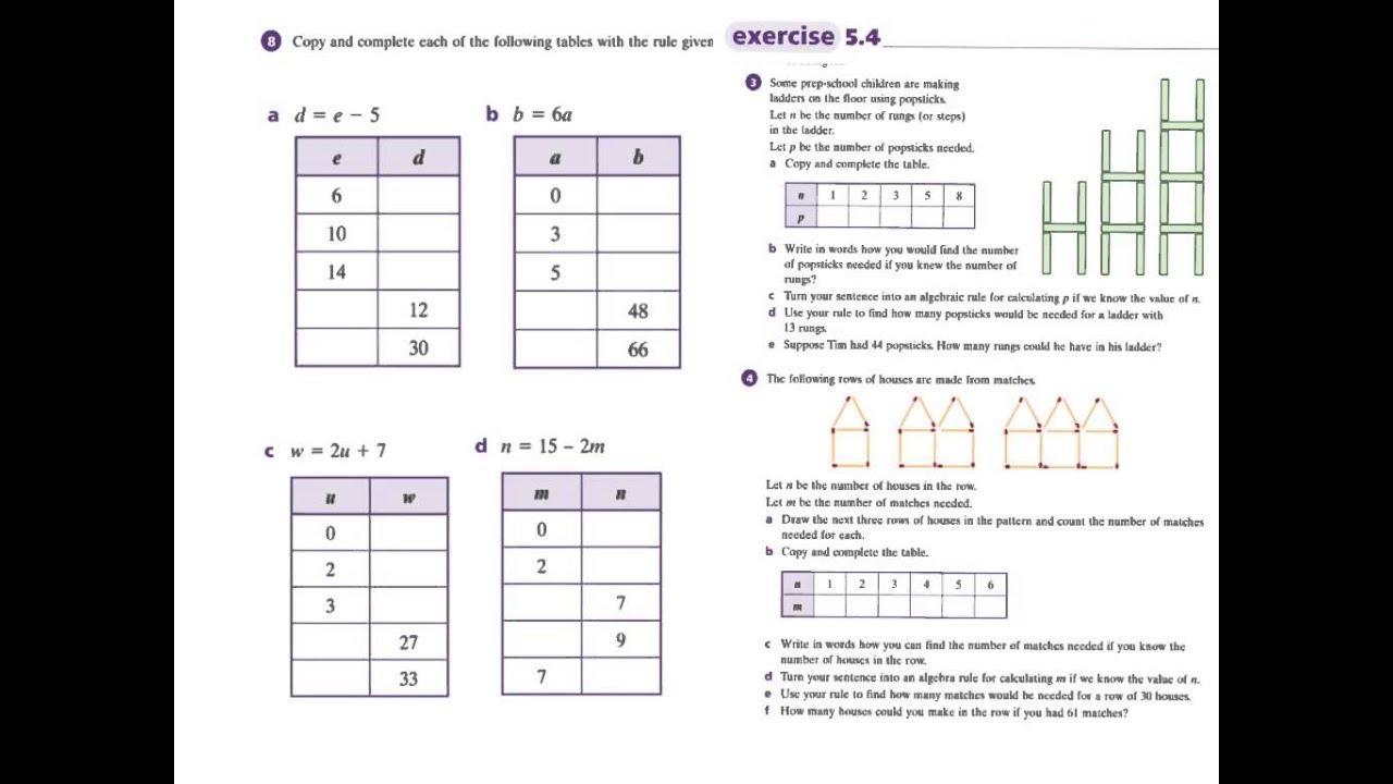 Math Worksheets Grade 7 Pdf