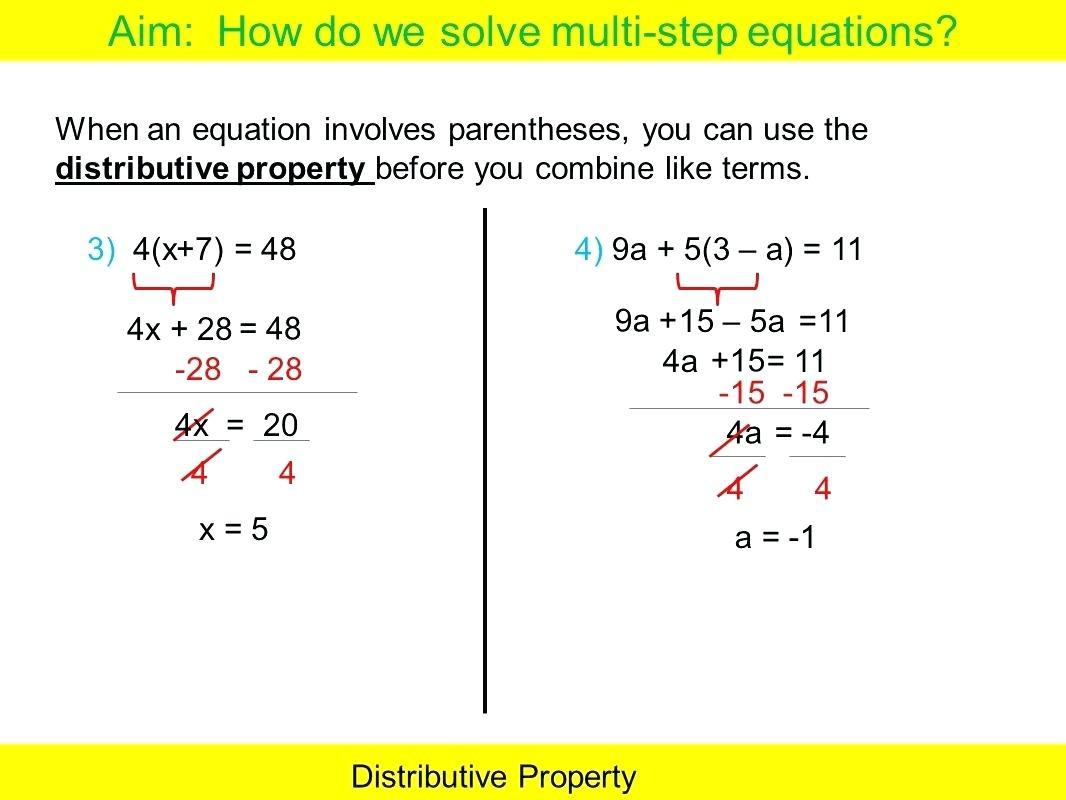 Math Worksheets Variables And Expressions 5
