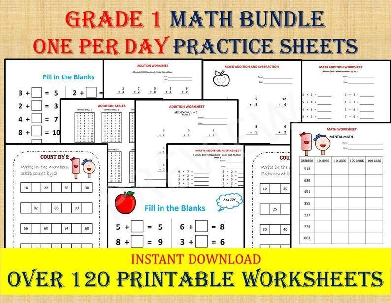 Math Worksheets Year 12