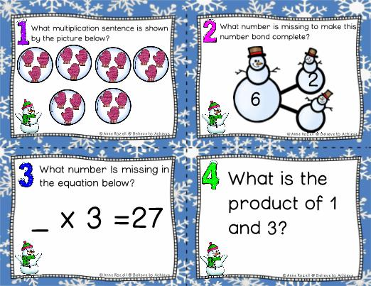 X3 Math Worksheets 4